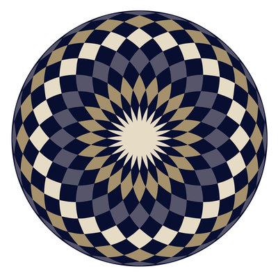 Placemat Mandala Art Deco
