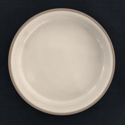 Japan plate in white
