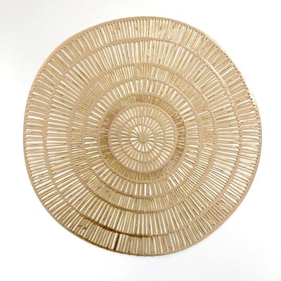 Placemat rond Goud