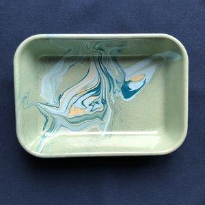 Plateau  'Marble' Mint 21 cm