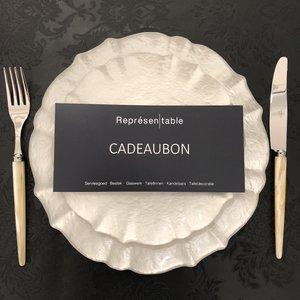 Cadeaubon Représentable € 25,-