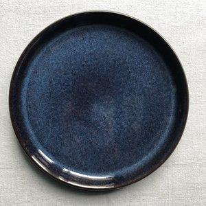 Bord Bitz zw/blauw 27cm