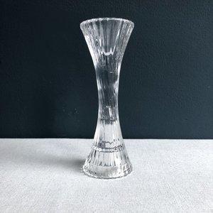 Kandelaar gedraaid glas 20cm