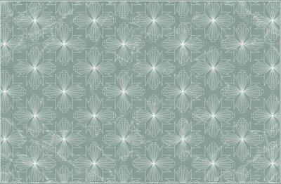 Placemat Art Nouveau groen