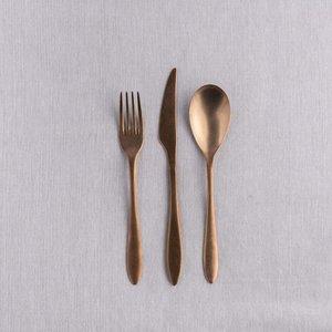 Dessertvork Gioia Bronze
