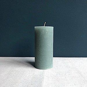 Kaars Branded 15cm groen